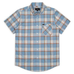 Brixton Men's Howl Short Sleeve Button Up Short