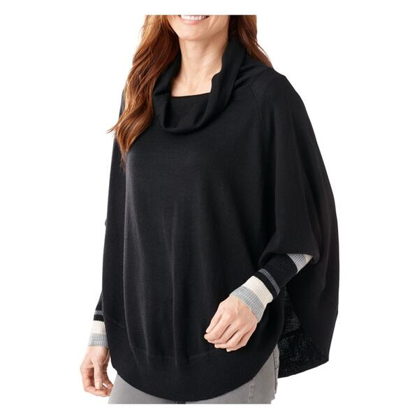 Smartwool Women's Nokoni Stripe Sweater Poncho
