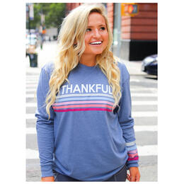 Jadelynn Brooke Women's Thankful Longsleeve Tee
