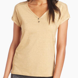 Kuhl Women's Lisette Short Sleeve Henley Shirt