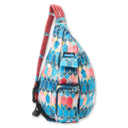 Kavu Women's Rope Sling Stained Glass Backpack