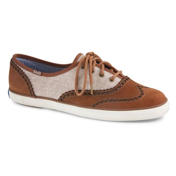 Keds Women's Champion Brogue Casual Shoes