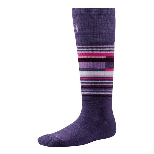 Smartwool Girl's Wintersport Stripe Ski Socks