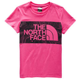 The North Face Girl's Graphic Short Sleeve T Shirt