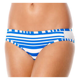 JAG Sport Women's Ombre Stripe Retro Swimsuit Bottom