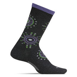 Feetures Women's Sunburst Crew Ultra Light Socks