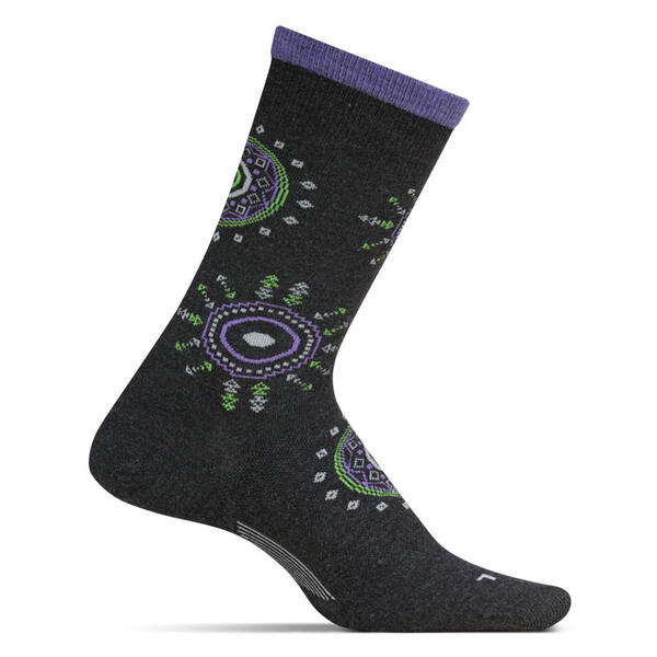 Feetures Women's Sunburst Crew Ultra Light