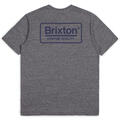 Brixton Men's Palmer Short Sleeve Premium T Shirt alt image view 4