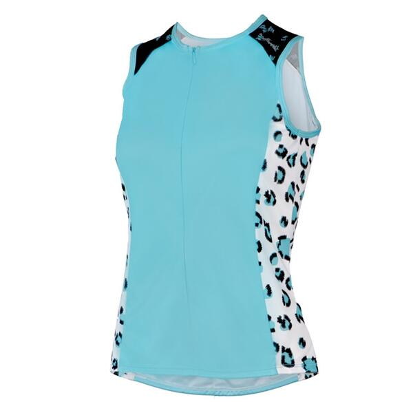 Shebeest Womens Bellissima Mewow Sleeveless Cycling Jersey