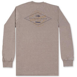 Southern Marsh Men's SEAWASH™ Diamond Long Sleeve Tee Shirt