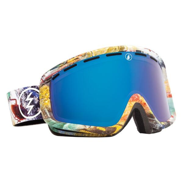 Electric EGB2 Snow Goggles with Bronze/Blue Chrome Lens