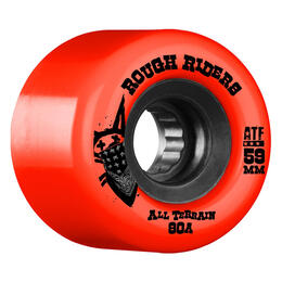 Bones Rough Riders Skateboard Wheels (4 Pack)
