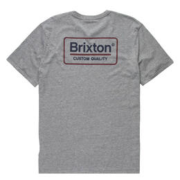 Brixton Men's Palmer Short Sleeve Premium T Shirt