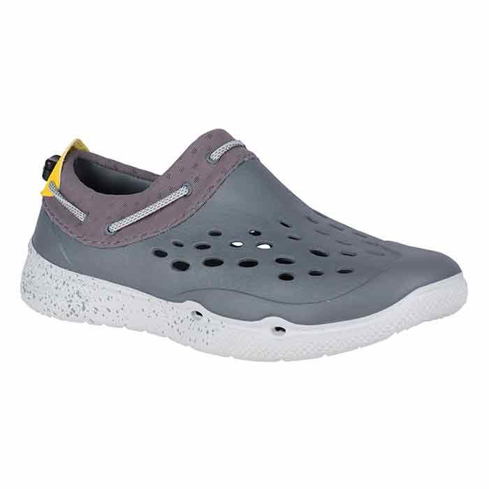 Sperry Men's Seafront Grey/Yellow Water Sho