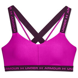 Under Armour Women's UA Crossback Low Sports Bra