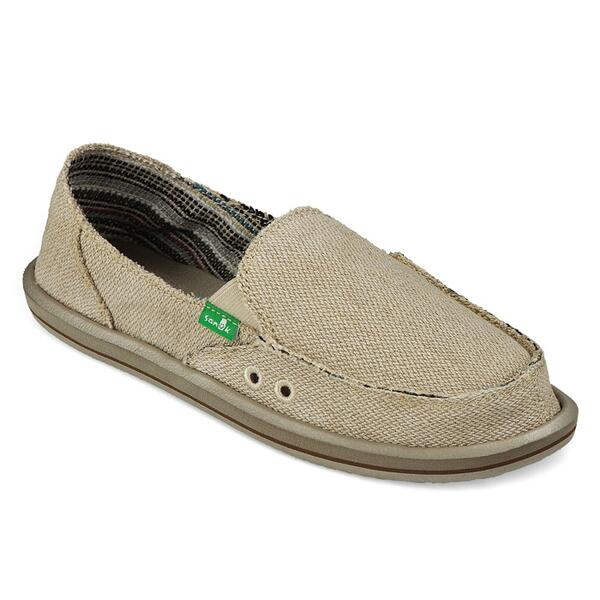 Sanuk Women's Donna Hemp Casual Slip Ons
