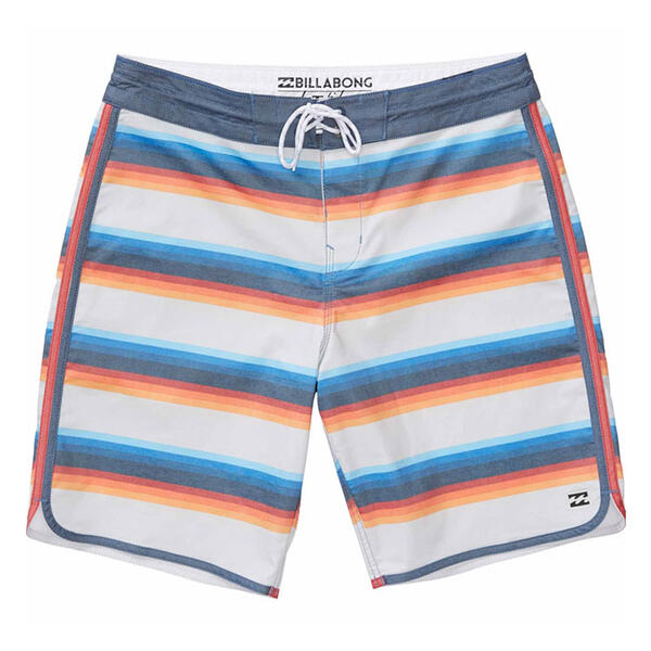 Billabong Men's 73 Lo Tides Lineup Boardsho