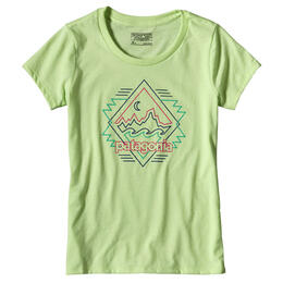 Patagonia Girls Fitz Roy Boogie Short Sleeve T Shirt