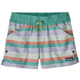 Patagonia Girl's Costa Rica Baggies Shorts 3""