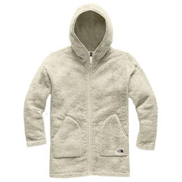 The North Face Girl's Campshire Long Full Zip Fleece Hoodie