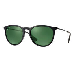 Ray-Ban Erika Classic Sunglasses With Green Polarized Lenses