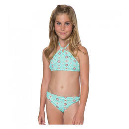 O'Neill Girl's Rocky High Halter Swimsuit Set