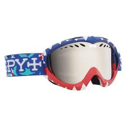 Spy Targa Mini Snow Goggles with Bronze/Silver Mirror Lens