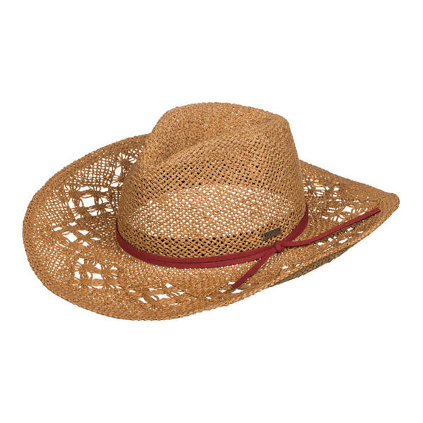 Roxy Junior Girl's Cowgirl Straw Sun Hat