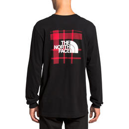 The North Face Men's Holiday Red Box Long Sleeve Shirt