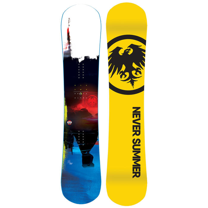 Never Summer Men's Proto Ultra Snowboard '21