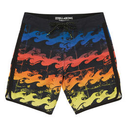 Billabong Men's 73 X Line Up Boardshorts Neon