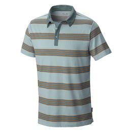 Mountain Hardwear Men's Adl Striped Short Sleeve Polo Shirt