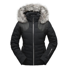 Spyder Women's Falline Real Fur Jacket