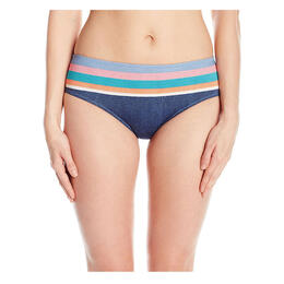 Sperry Women's Shipmate Chambray Hipster Bikini Bottom