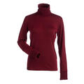 Nils Women's Holly 1/4 Zip T-Neck Cranberry