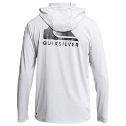 Quiksilver Men's Dredge Hooded Long Sleeve UPF 50 Rashguard