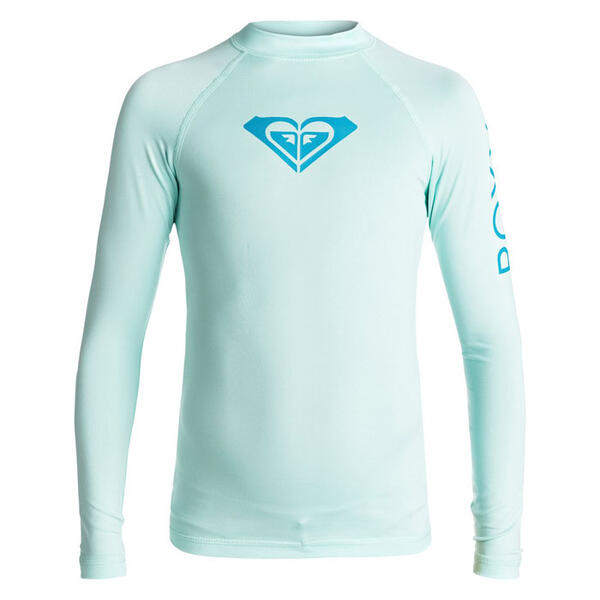 Roxy Girl's Whole Hearted Long Sleeve Rashg