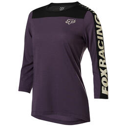 Fox Women's Ranger Drirelease 3/4 Cycling Jersey