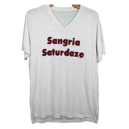 Oil Digger Tees Women's Sangria Saturdaze Short Sleeve T Shirt