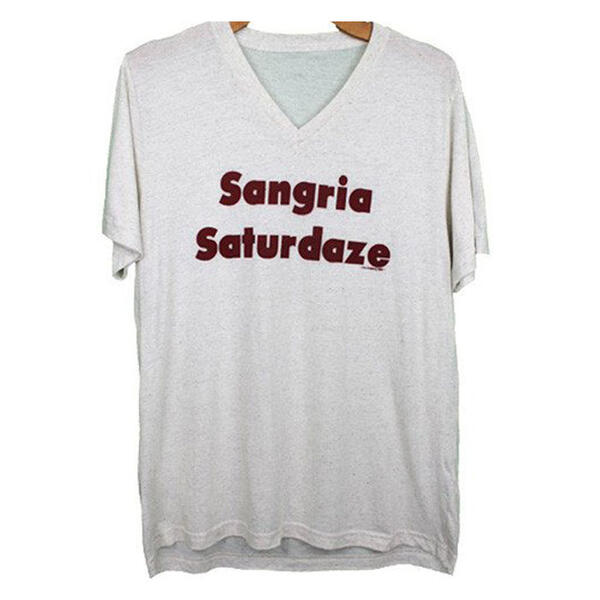 Oil Digger Tees Women's Sangria Saturdaze S