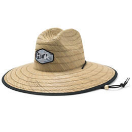 Huk Men's Camo Patch Straw Hat