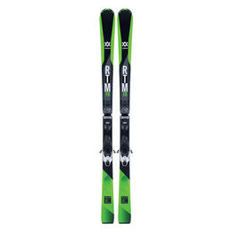 Volkl Men's RTM 76 Frontside Skis with vMotion1 Bindings '18