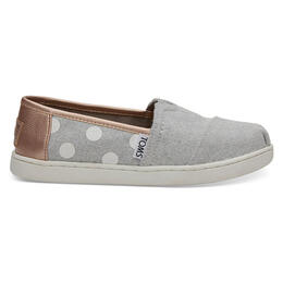 Toms Girl's Alpargata Slip On Casual Shoes