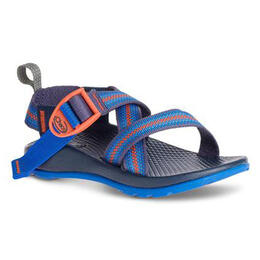 Chaco Kids Z/1 Ecotread Casual Sandals Split Blue