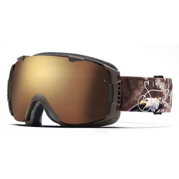 Smith I/O Snow Goggles with Gold Sol-X Lens