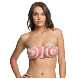 Roxy Women's Sandy Treasure Underwire Bandeau Top