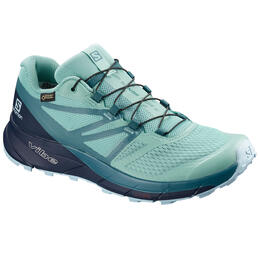 Salomon Women's Sense Ride 2 GTX Invisible Fit Trail Running Shoes