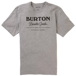 Burton Men's Durable Goods Organic T Shirt