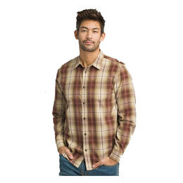 prAna Men's Holton Plaid Long Sleeve Shirt