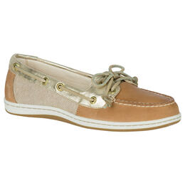 Sperry Women's Firefish Core Casual Shoes Linen/Gold